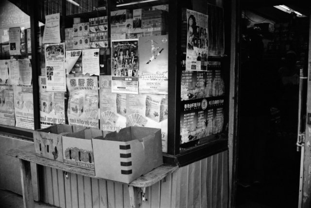 Chinatown, Ottawa, Nikkormat Ftn, Ilford XP2 Super, 2010.